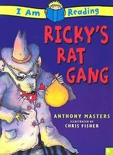 Kids fun paperback:Ricky's Rat Gang-I am Reading-early chapter book-lol adventur