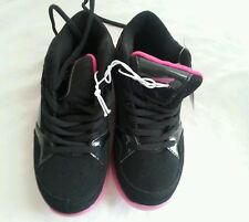 Catapult Youth Girls Athletic Shoes Tennis Sz 12M Black Pink Fuchsia