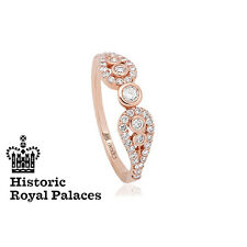 Clogau 18ct Rose Gold Royal Crown Ring **SAVE 50% OFF RRP £2200** SIZE O