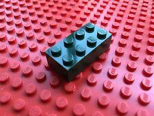 LEGO (3001) 2x4  VERDE SCURO DARK GREEN MILITARY 1 Mattoncino Brick Basic Steine