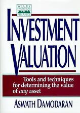 Investment Valuation: Tools and Techniques for Determining the Value of Any Asse