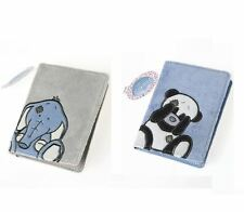 My Blue Nose Friends Two Passport Covers Toots Elephant Binky Panda