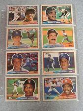 L#52 1988 Topps Big baseball card lot, 48 different, series 1-3