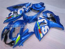 Blue Injection ABS Bodywork Plastic  Fairing for Suzuki 2009-2015 GSXR 1000 x#03