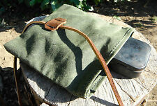 Waxed Canvas Roll Top Pouch Bushcraft Survival Camping Fire Kit