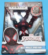 JADA M252 MARVEL SPIDERMAN MILES MORALES 4 inch Die-Cast Metal Action Figure