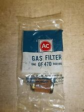 NEW Genuine AC Delco NOS Fuel Gas Filter 5651802 GF470 *FREE SHIPPING*