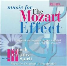 Music for the Mozart Effect, Vol. 3: Unlock the Creative Spirit (CD, Apr-2000, S
