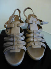 YSL Yves Saint Laurent Slingback platform sandal EU 40.5 UK7.5 USA10.5 PRE OWNED