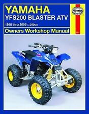 1988-2006 Yamaha Blaster ATV Repair Manual 99 2000 2001 2002 2003 2004 2005 6881