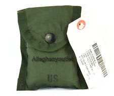 US Military FIRST AID COMPASS MEDIC POUCH CARRIER CASE w Alice Clip USGI NEW