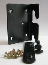 Bed Frame Corner Fitting Bracket RIGHT Black (as photo)