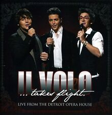 Takes Flight-Live From The Detroit Opera House - Il Volo (2012, CD NIEUW)