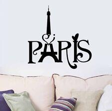 Paris France French Wandtattoo Wallpaper Wand Schmuck 59 cm