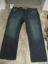 DKNY $108 NWT Soho Relaxed Fit Straight Leg Classic Mens Jeans 40W X 30L Tag