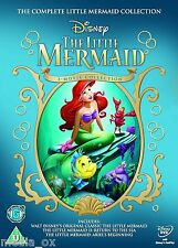 The Little Mermaid 1 2 & 3 Movie Trilogy Box Set Collection | Disney | New | DVD