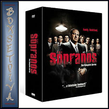 THE SOPRANOS -  ENTIRE COLLECTION SERIES 1 2 3 4 5 & 6 ***BRAND NEW DVD BOXSET**