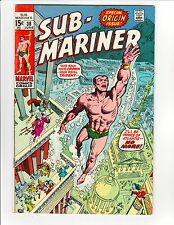 Sub-Mariner #38 - Origin Retold - 7.0 Fine/Very Fine, High Resolution Scans!