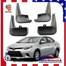 FOR 2014-2016 TOYOTA COROLLA SEDAN Mud Flaps Splash Guard Fender Mudguard