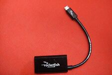 Rocketfish HDMI Adapter Android Samsung Note8 S4 S2 Huawei Video to AV TV Plasma