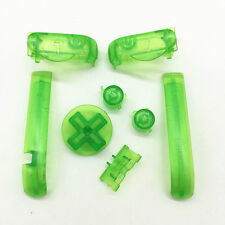 Nintendo Game Boy Advance BUTTONS SET Bumpers R L A B D-Pad GREEN (Lot of 5)