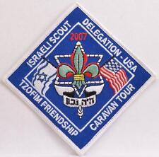BSA 2007 TZOFIM Israeli Delegation Caravan Tour Jewish Boy Scout Activity Patch