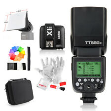 Godox TT685S HSS 1/8000S TTL Camera Flash +X1T-S Trigger +Bag for Sony A77II A7R