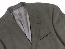 LS5780 HUGO BOSS BLAZER JACKET WOOL CHECKED ORIGINAL PREMIUM size UK44 EU54