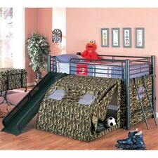 Coaster 7470 - Oates Lofted Bed with Slide and Tent