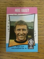 1967 Trade Card: Star Players) Wolverhampton Wanderers - Mike Bailey [A&BC Card
