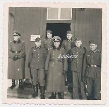 Foto Norwegen -Schreibstube -Offiziere-Soldaten 2.WK  (G505)