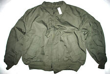 NWT US AIR FORCE GREEN NOMEX FLYER'S JACKET COLD WEATHER - X-LARGE REGULAR