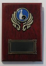 Tenpin Bowling  Trophy / Wooden  Plaque 125x90mm  Engraved FREE
