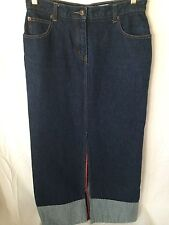 Armor Jeans Women's Denim Skirt Modest Modesty size 7/8 Very Good Condition
