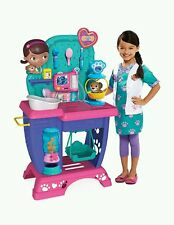 Disney Doc McStuffins Pet Vet Checkup Center Toy Kids Play Set