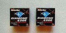 100 pc Super Max Diamond  Edge Razor Blades -SUPER PLATINUM Blades saloon FSWWD.