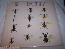 Syd Barrett 'Barrett' Vinyl LP early 1970 pressing album Pink Floyd SHSP 4007