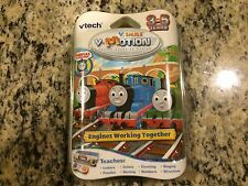 RARE NEW SEALED THOMAS & FRIENDS V-SMILE V-TECH V-MOTION GAME ENGINES WORKING