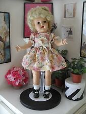 """NEW FLORAL DRESS & UNDIES for P-92 19"""" TONI OR RAVING BEAUTY by SSO DOLL CLOTHES"""