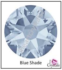 BLUE SHADE Swarovski 34ss 7mm Crystals 2058 Xilion Flatback Rhinestones 6 pcs