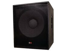 "QFX SBX-1500SA DJ High-End Active 15"" Powered Subwoofer Speaker System"