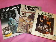 3 ANTIQUE Books-heirloom-John Bly.on a budget-Curtis & F DAVIS,SAGER,BLAKEMORE e