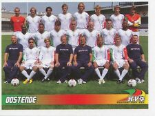 N°468 EQUIPE TEAM # BELGIQUE KV.OOSTENDE STICKER PANINI FOOTBALL 2011