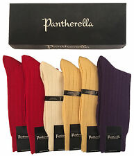Pantherella Mid-calf Extra Fine Merino Bright Solids 6-pair Casual Sock Grab Bag