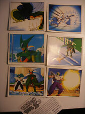 album PANINI 1994 lot Vignettes DBZ DRAGON BALL Z 2 n°179-180-181-184-187-189