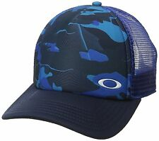 Oakley Men's Sublimated Foam Trucker Hat Cap - Sapphire Camo