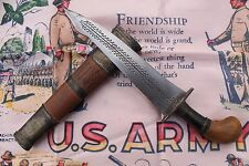 WW2 RARE!! Vet Owned And Inscribed Kris Knife