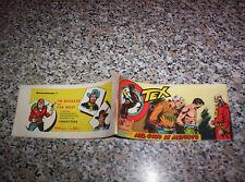 TEX STRISCIA SERIE MEFISTO N.7 ORIGINALE 1959 AUDACE OTTIMA TIPO ZAGOR RANGER