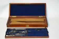 Nice Boxed Antique Architect's Draftsman's Drafting Set 1920's- FREE P&P [P1959]