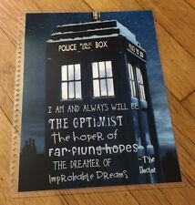 Dr Who Inspired Front/Back Cover Set for use with Erin Condren Life Planner